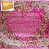 Женский изящный атласный платок размером 89*89 см ETERNO (ЭТЕРНО) ES0406-5-21