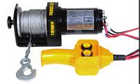 Лебедка автомобильная электрическая Sigma 2000 lbs (910 кг)