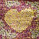 Женский стильный атласный платок размером 87*89 см ETERNO (ЭТЕРНО) ES0406-5-22, фото 2