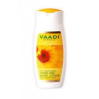 Лосьон для рук и тела с экстрактом подсолнечника, 110 мл, Vaadi Herbals Pvt. Ltd.