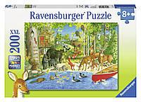 Пазл XXL Лесные жители 200 элементов Дисней Ravensburger 12740