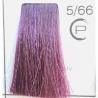 Краска для волос 5/66 - Насыщенный фиолетовый светлый шатен Trinity 90 мл