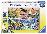 Пазл XXL Прекрасный океан 100 элементов Дисней Ravensburger 10681
