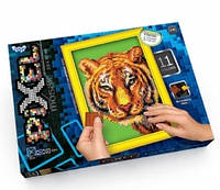 "Набор для творчества Тетрис-мозаика Pixel - ""Тигр"""
