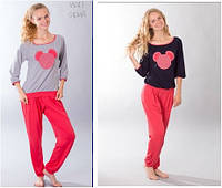 Пижама подростковая для девочки WIKTORIA W41