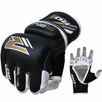 Перчатки  ММА RDX Hammer повышенное поглощение. Доставка бесплатно! Черный