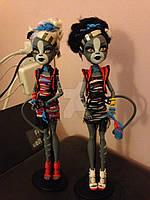 Монстер Хай Танец Зомби Набор Пурсефона и Мяулоди Monster High Zombie Shake Meowlody and Purrsephone