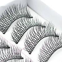 Набор накладных ресниц, 10 пар