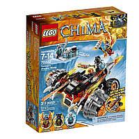 Конструктор Лего 70222 Огненный вездеход Тормака
