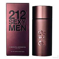 """Мужская туалетная водa """"Carolina Herrera 212 Sexy Men"""" обьем 100 мл"""