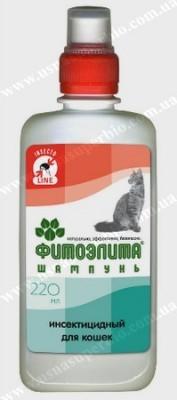 Шампуни, аэрозоли от блох/клещей для кошек