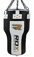 Боксерский мешок конусный RDX 1.1м, 50-60кг. Доставка бесплатно! Черный