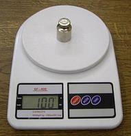 Электронные кухонные весы 7 кг