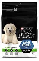 Корм Pro Plan Puppy Large Breed Robust для щенков крупных пород с курицей и рисом