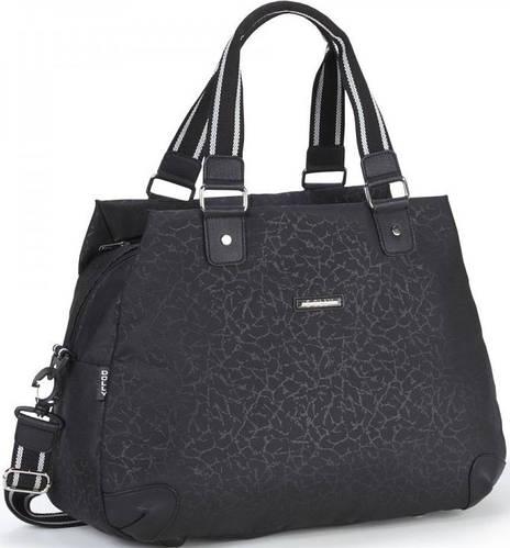 Удобная спортивная сумка из непромокаемой ткани Dolly (Долли) 935 черный