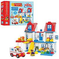 Детская развивающая игра конструктор Джек в больнице Станция скорой помощи