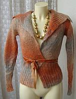 Кофта женская вязаная зимняя теплая бренд Kor&Kor р.40 4751