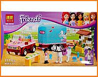 """Конструктор Bela """"Эмма и трейлер для её лошадки"""" арт.10161 (аналог LEGO Friends 3186)"""
