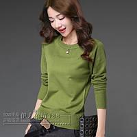 Стильный дышащий женский свитерок