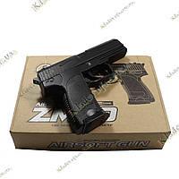 Детский металлический пневматический пистолет ZM20