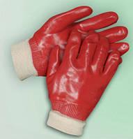 Перчатки маслостойкие с ПВХ (полный облив)
