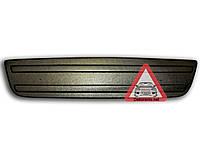 Зимняя накладка на решетку радиатора Renault Trafic/Opel Vivaro 2006-2015 (бампер низ) матовый