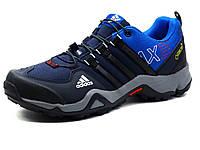 Кроссовки Adidas Terrex, мужские, текстильные синие, р. 41 42, фото 1
