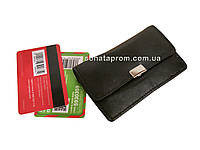 Маленький кошелек для карточек кожаный Студенческий
