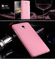 Пластиковый чехол для Lenovo VIBE P1 розовый