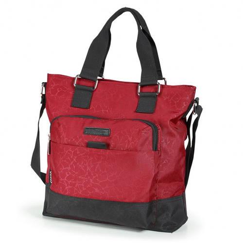 Практичная женская сумка из прочной ткани Dolly (Долли) 637 красный