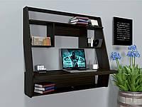 Навесной компьютерный стол ZEUS AirTable-III WT (венге)