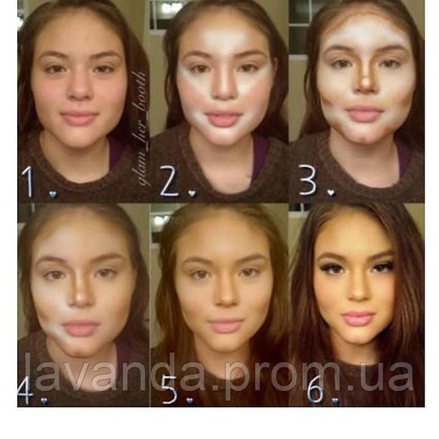 Как сделать нос черта