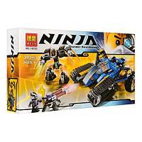 Bela конструктор NINJA 10222: внедорожник «Молния», ниндроид, игровые мини-фигурки