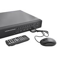 Видеорегистратор на 16 камер LUX-K 9516 HE: аналоговый + сетевой вход, датчики тревоги