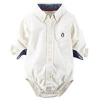 Рубашка-боди для мальчика. 18, 24 месяца