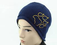 Зимние двусторонние шапки Jack Wolfskin. Теплая шапка. Шапка унисекс. Интернет магазин. Оригинал. Код: КЕ357