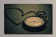 Картина Часы с сердцем 54*32,5