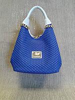 Сумка синяя. красивая,универсальная модель из Турции