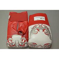 Перчатки снарядные Hero 01-08 М бел/красные кожа
