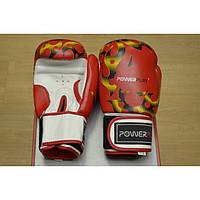Перчатки боксерские Power Play 10oz, кожа.