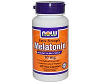 Мелатонин для сна Melatonin 10 mg extra strength (100 veg caps)