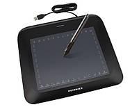 """Графический планшет для рисования на компьютере Huion P608N, 26 клавиш, 8""""x 6"""" рабочая обл(черный)"""