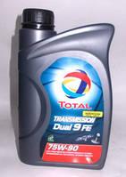 Трансмиссионное масло Total Transmission Dual 9 FE 75W-90 1л