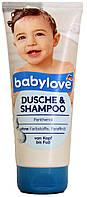 Гель для душа-шампунь детский DM Babylove Dusche-Shampoo 200мл.