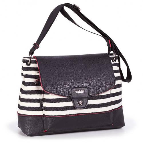Оригинальная  женская молодежная сумка через плечо Dolly (Долли) 641 черный