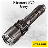 Тактический фонарь Nitecore P25 военно серый цвет