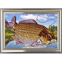 """Схема для вышивки бисером """"Ловись рыбка большая!"""""""