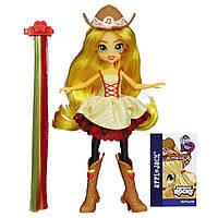 Кукла пони Эпплджек Девушки Эквестрии Стильные прически. My Little Pony Equestria Girls Applejack