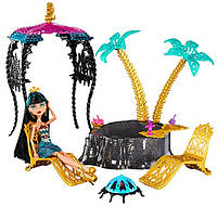 Игровой набор Monster High, 13 Wishes, Desert Fright Oasis Playset with Cleo De Nile Doll, Оазис Клео.