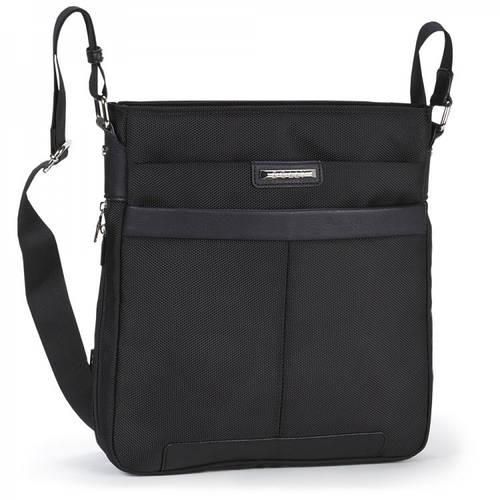 Молодежная сумка в сдержанном стиле,  Dolly (Долли) 629 черный